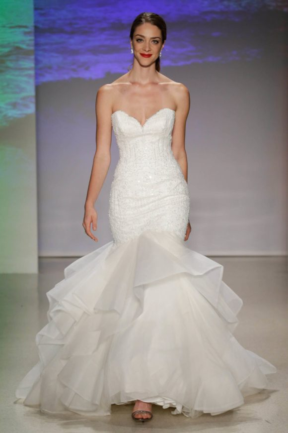 Ariel, Collection 2017, Disney Fairy Tale Weddings, by Alfred Angelo