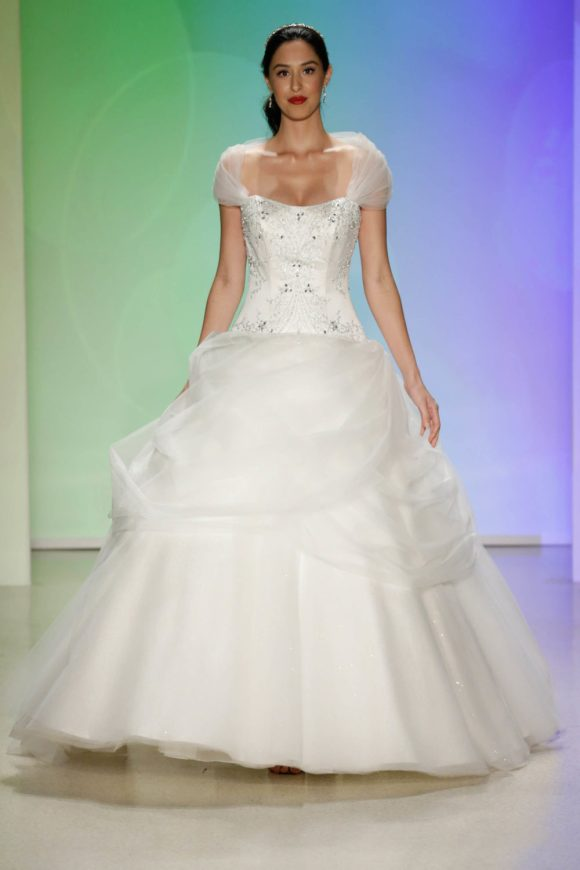 Belle, Collection 2017, Disney Fairy Tale Weddings, by Alfred Angelo 2